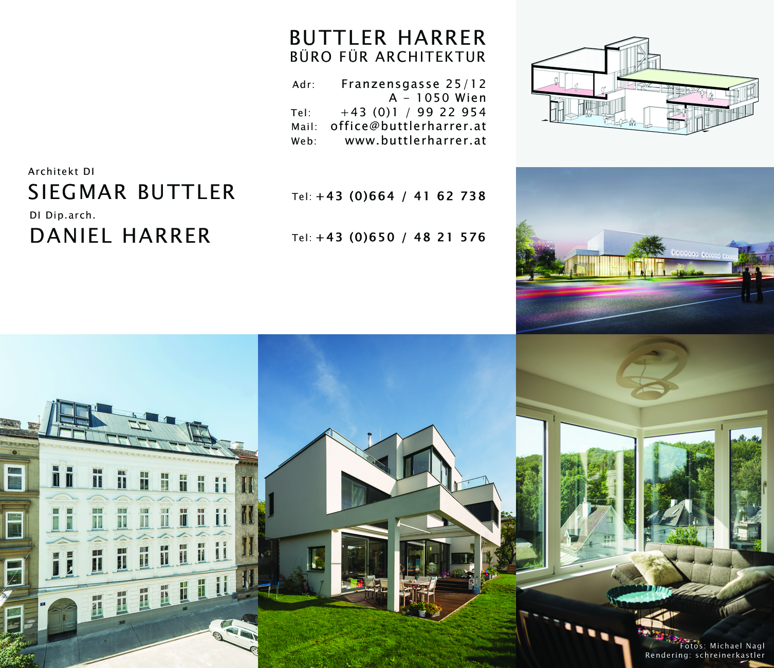 Buttler Harrer email, contact